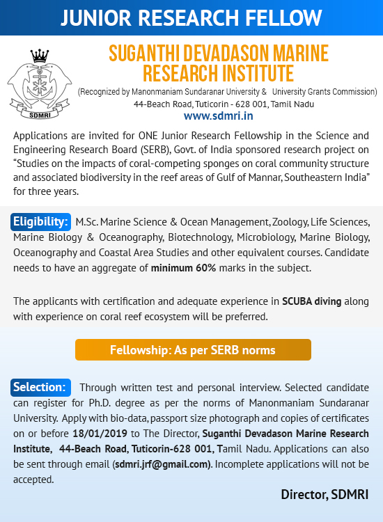 Marine Research Institute in India